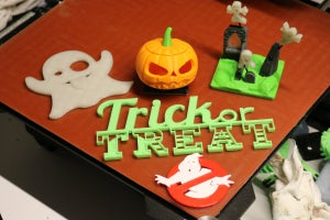 Halloween 3D prints