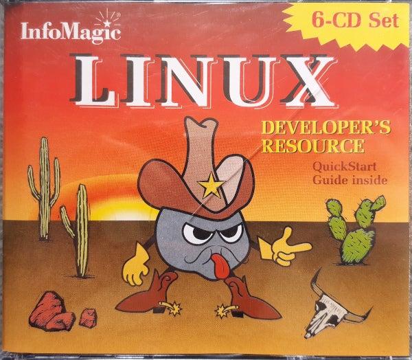 A tri-linux CD set