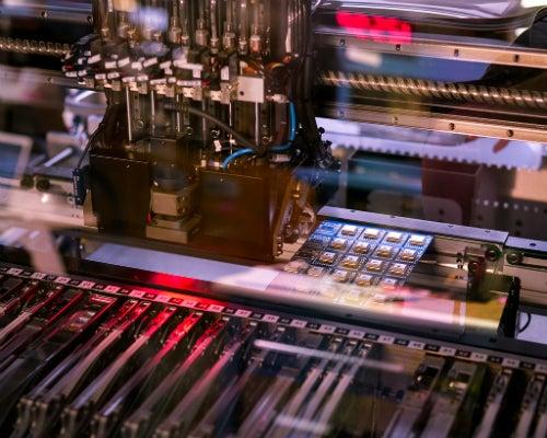 An Adafruit machine