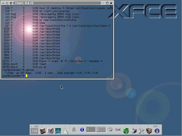 XFCE in 2003