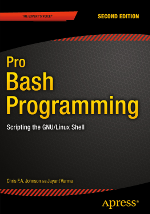 Pro Bash Programming book cover