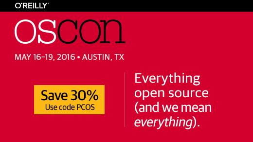 OSCON 2016 banner