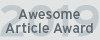 Awesome Article Award 2019