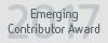 Emerging Contributor Award 2017