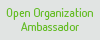 Open Organization Ambassador badge