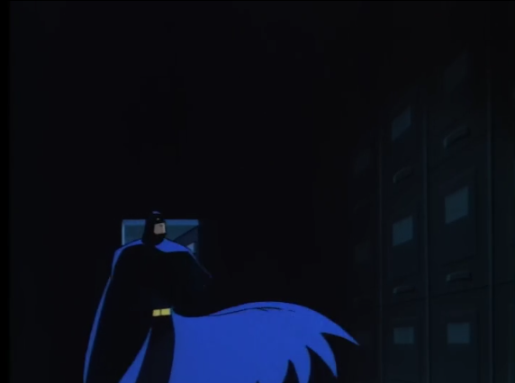 Animated Batman, setting the scene