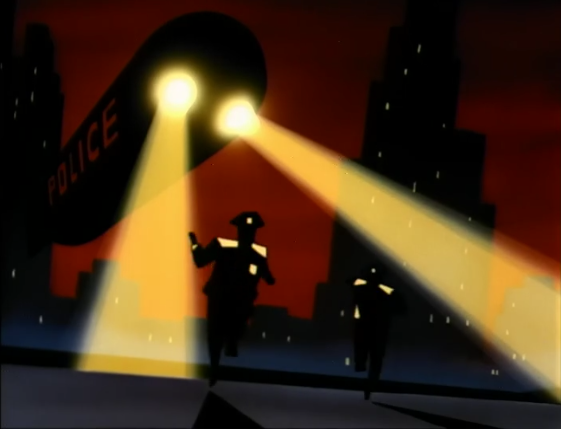 Animated Batman, a shot in the dark