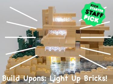 Build Upons light-up bricks