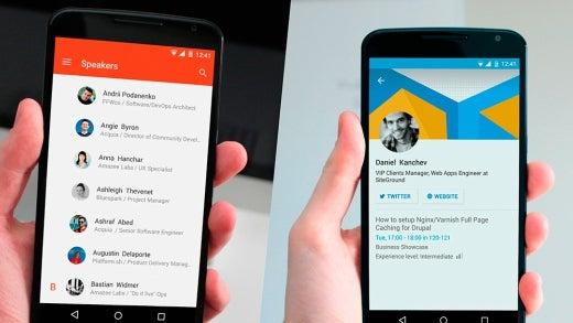 Connfa app screenshots
