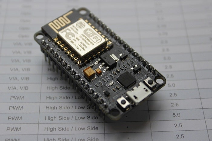 NodeMCU development board