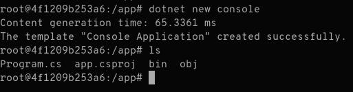 dotnet new