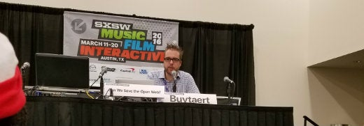 Dries of Drupal on open web at SxSW 2016