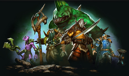 Dota 2 screenshot; Credit and copyright Colony of Gamers