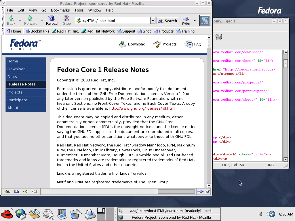 Test drive Linux from 1993-2001: SLackware 1 01 through Fedora 1
