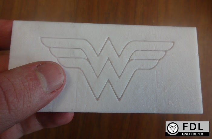 Wonder Woman NinjaFlex cover.