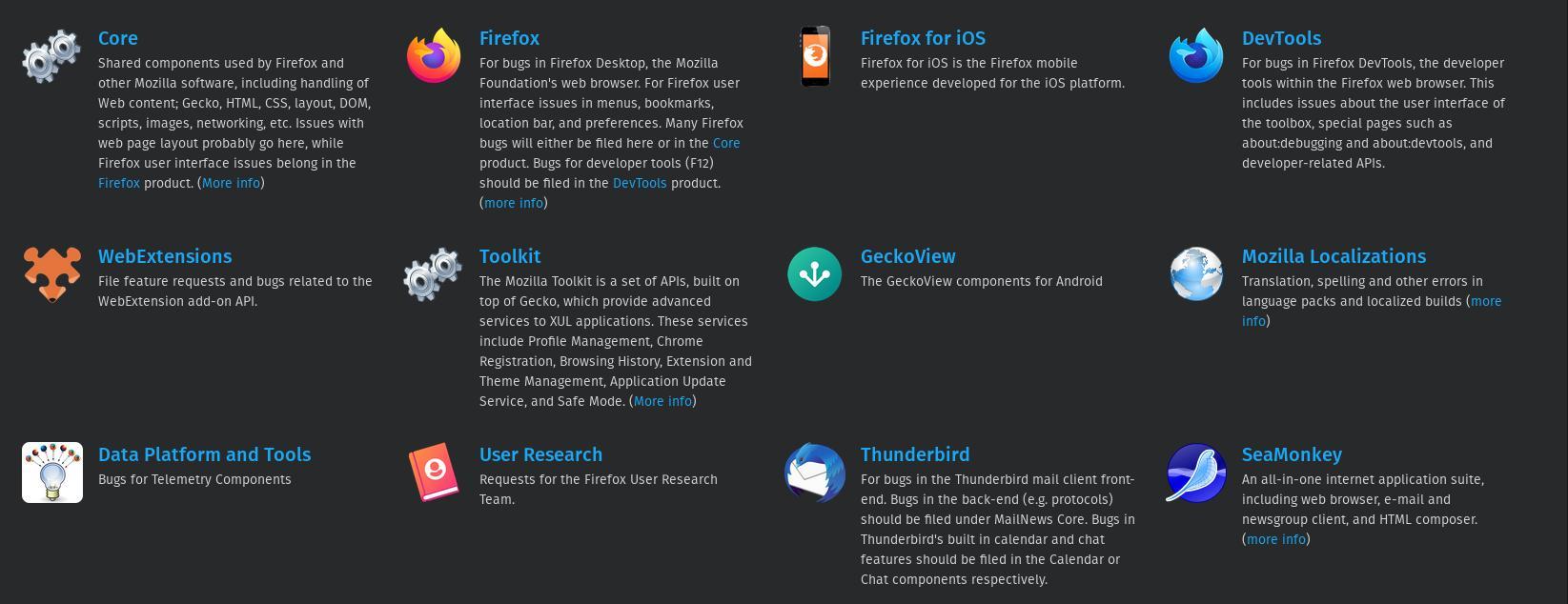 Firefox is open source