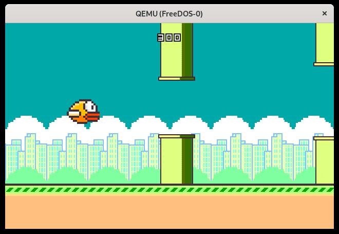 Playing the Floppy Bird game