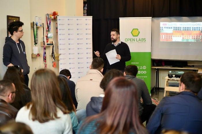 Open Labs hackathon Albania 2017