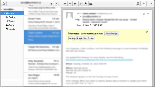 Top 6 Desktop Email Clients For Linux Opensource Com