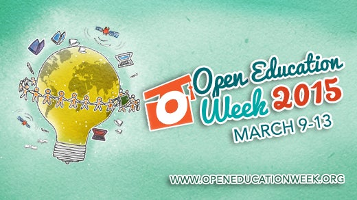 Open Education Week 2015, global event