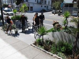 SF Parklet ride