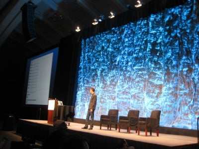 David Cole delivers open government keynote