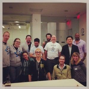 Hackathon competition participants