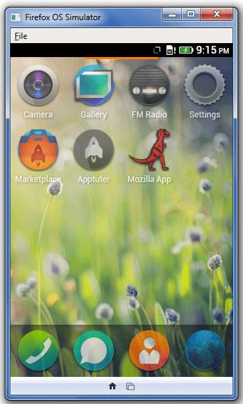 Apptuter Facebook Firefox OS App 1
