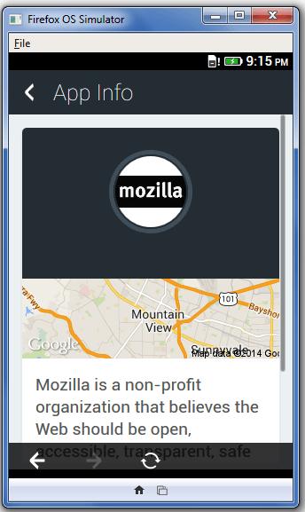 Apptuter Facebook Firefox OS App 3