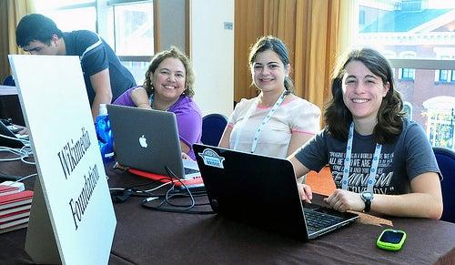 Grace Hopper Women in Open Source conference