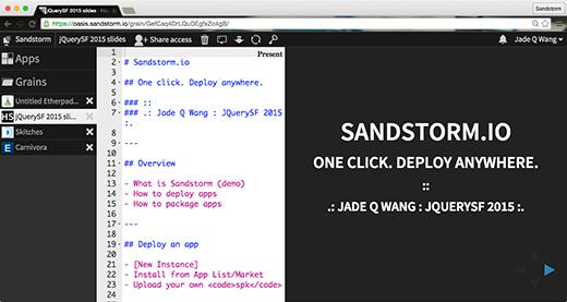 HackerSlides screenshot