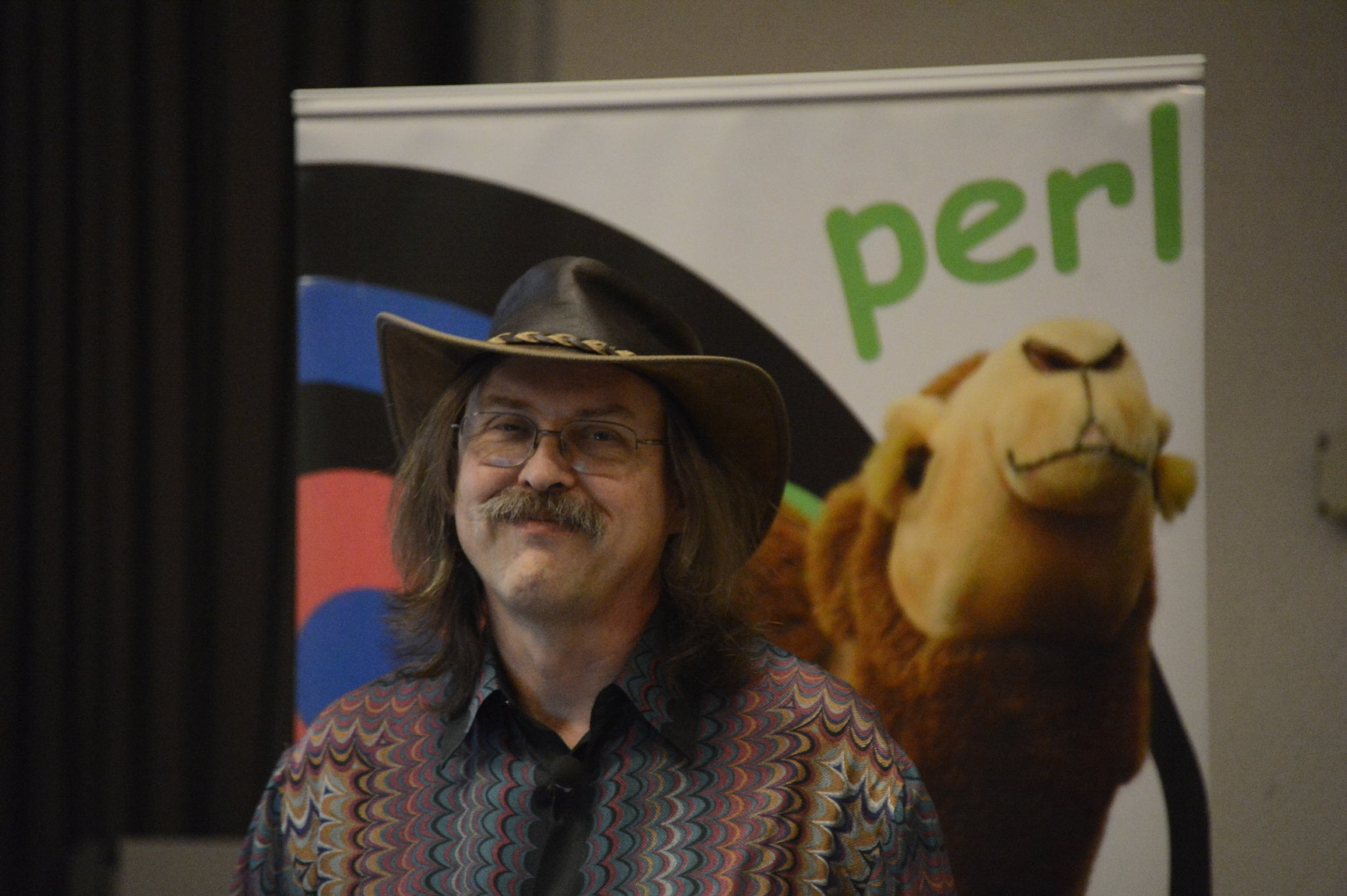 Larry Wall, creator of Perl
