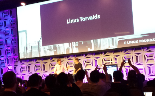 Linus Torvalds at LinuxCon North America 2015