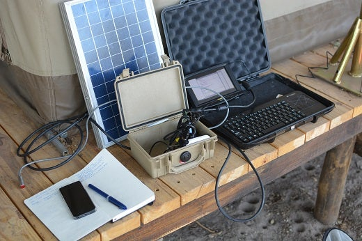 Prototype environmental sensors in the field