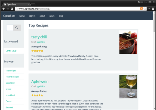 Three open source managers for your recipe collection