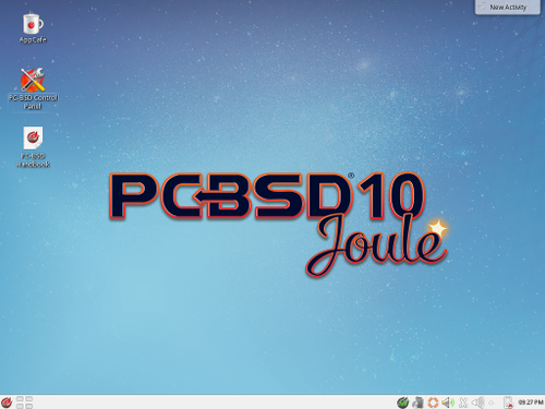 PC-BSD KDE Desktop
