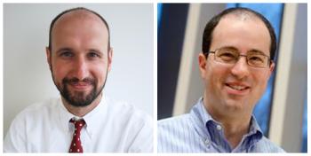 Headshots of Michael Hess and Greg Knaddison