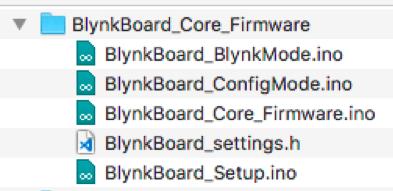 Blynk Board firmware