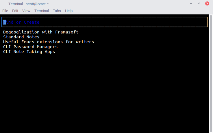 4 command line note-taking applications for Linux