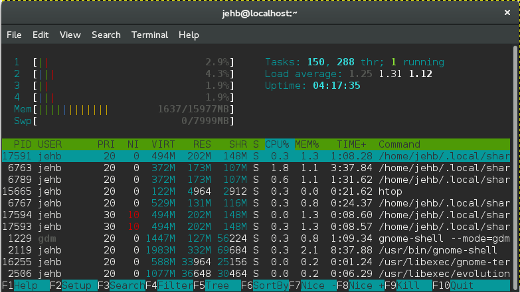 Top 7 terminal emulators for Linux | Opensource com