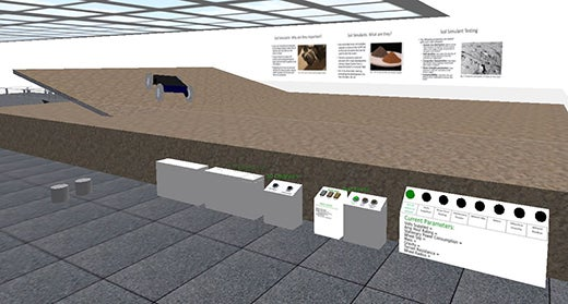 Virtual reality SLOPE Lab