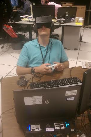 VR headset testing