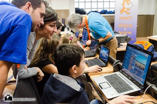 CoderDojo Milano and Scratch