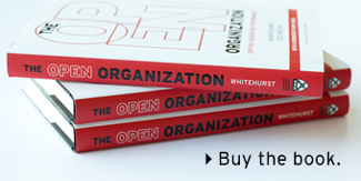 Buy The Open Organization book