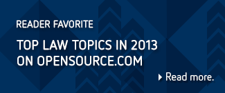 Top law topics in 2013