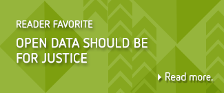 open data should be for justice