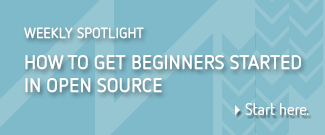 How to get beginners started in open source