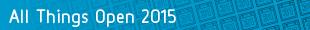 All Things Open 2015 speaker series