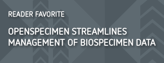 OpenSpecimen streamlines management of biospecimen data