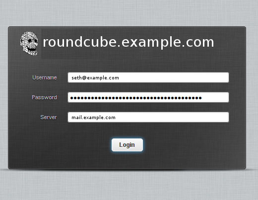 Roundcube screenshot